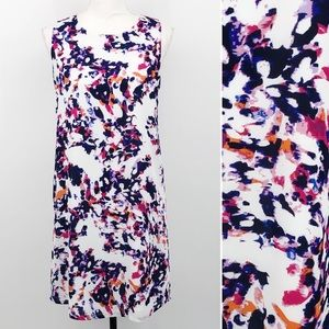 Olive & Oak Shift Dress Printed Sleeveless A Line